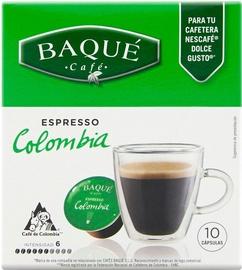Cafe Baque Colombia Espresso kafijas kapsulas, 10 spilventiņi