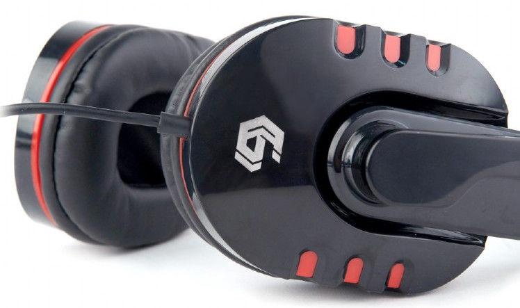 Игровые наушники Gembird GHS-402, черный