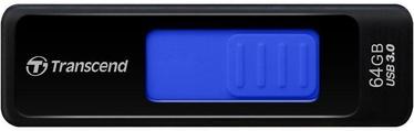USB atmiņas kartes Transcend Jet Flash 760 Blue, USB 3.0, 64 GB
