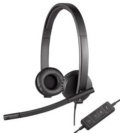 Наушники Logitech H570e, черный