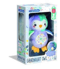 Mīkstā rotaļlieta Clementoni Night Owl Light up 17268, daudzkrāsains, 32 cm
