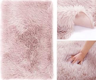 Ковер AmeliaHome Dokka, розовый, 150 см x 50 см