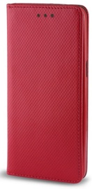 TakeMe Smart Magnetic Fix Book Case For Huawei P40 Lite Red