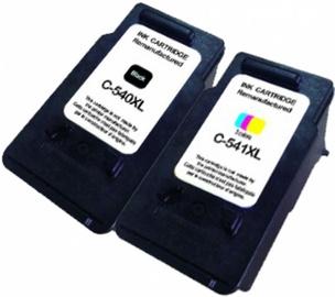 Printera kasetne Uprint Canon 540/541XL, zila/melna/sarkana/dzeltena