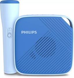 Bezvadu skaļrunis Philips TAS4405N, zila, 3 W