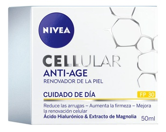 Sejas krēms Nivea Cellular Anti Age Facial Cream With Solar Protection SPF30, 50 ml