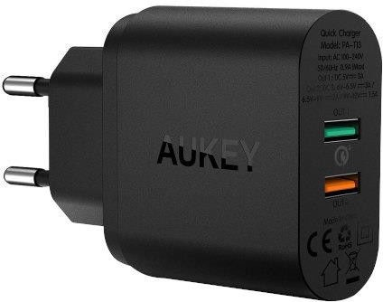 Aukey PA-T13 Quick Charge 3.0 33W Wall Charger