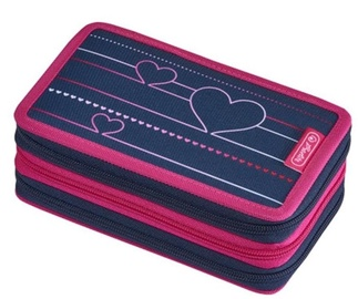 Herlitz 3 Piece Pencil Case Hearbeat