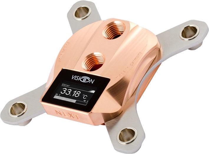 Aqua Computer Cuplex Cryos NEXT With Vision LGA 115x Copper/Copper