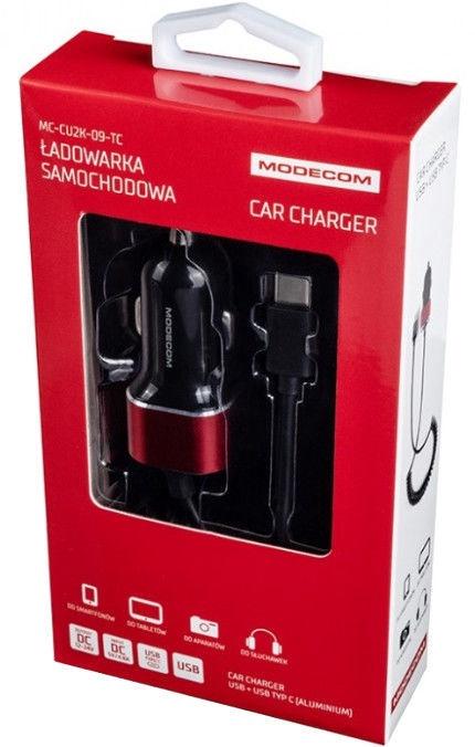 Modecom MC-CU2K-09-TC USB Car Charger