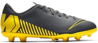 Nike Mercurial Vapor 12 Club MG JR AH7350 070 Gray/Yellow 38