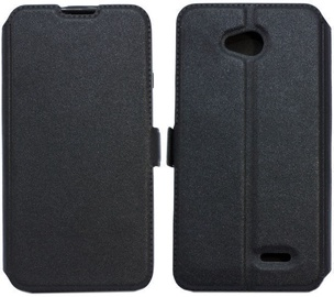 Telone Super Slim Shine Book Case For Huawei P20 Black