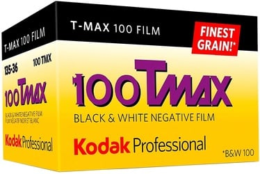 Kodak Professional T-Max 100 Black and White Negative 135-36 Film