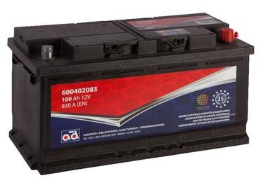 Аккумулятор AD BALTIC 600402083, 12 В, 100 Ач, 830 а