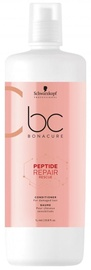 Matu kondicionieris Schwarzkopf Bonacure Peptide Repair Rescue Micellar Cleansing Conditioner, 1000 ml
