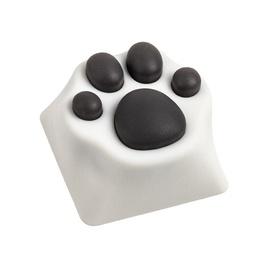Zomoplus Kitty Paw ABS Keycap White/Black