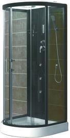 Dušas kabīne Vento Tivoli, pusapaļā, 900x900x2150 mm
