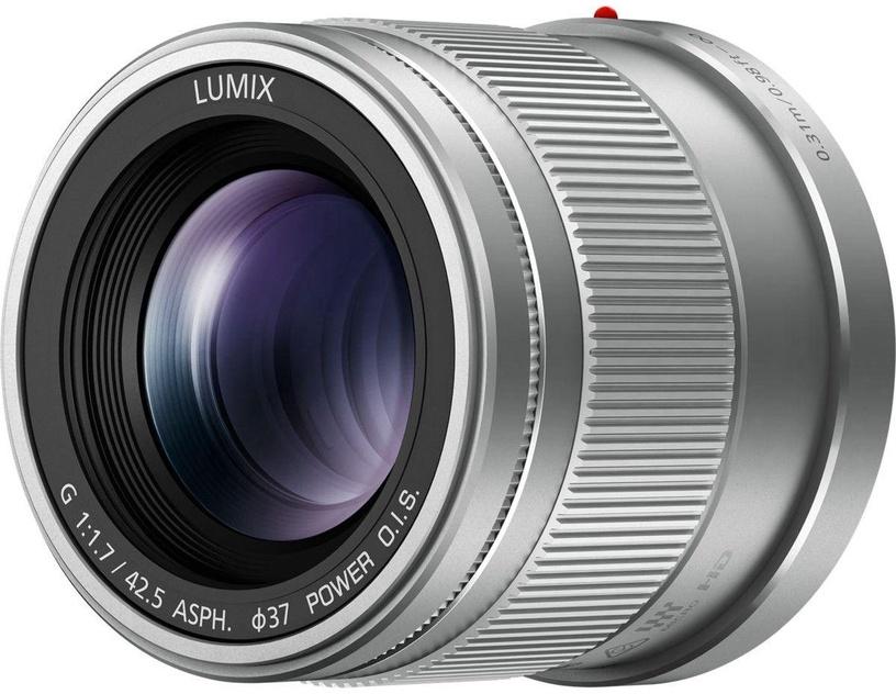 Panasonic Lumix G 42.5mm f/1.7 ASPH. Power O.I.S. Silver