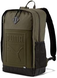 Puma S Backpack 075581 15 Khaki