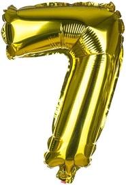 Balons Banquet Foil Balloon 7 Gold 30cm