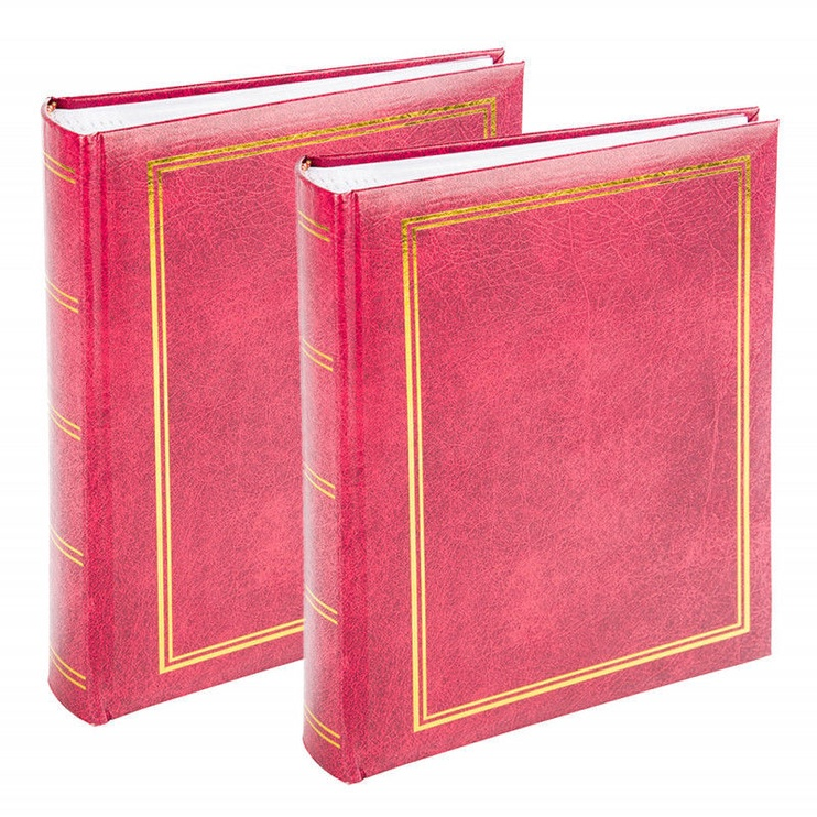Victoria Collection Album B Classic 10x15/200 Red 2pcs