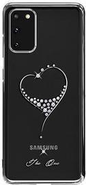 Kingxbar Wish Series Back Case For Samsung Galaxy S20 Silver