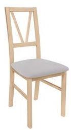 Ēdamistabas krēsls Black Red White Filo Oak, 1 gab.