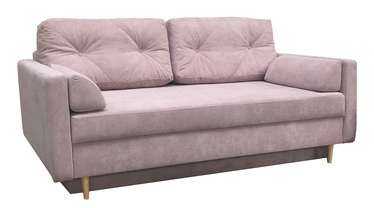 Dīvāngulta Idzczak Meble Astoria Queens 19 Pink, 216 x 100 x 74 cm