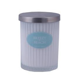 Aromātiskā svece Diana Candle Breezy Beach White, 7.5 x 9.5 cm, 35 h