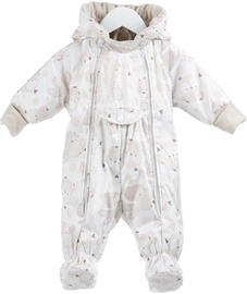 Lenne Baby Overall With Booties White/Beige 68