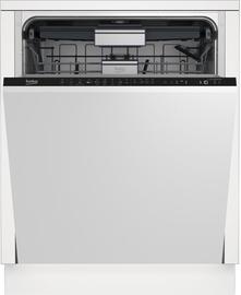 Iebūvējamā trauku mazgājamā mašīna Beko DIN28421