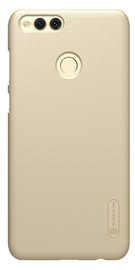 Nillkin Super Frosted Shield Back Case With Screen Protector For Huawei Honor 7X Gold