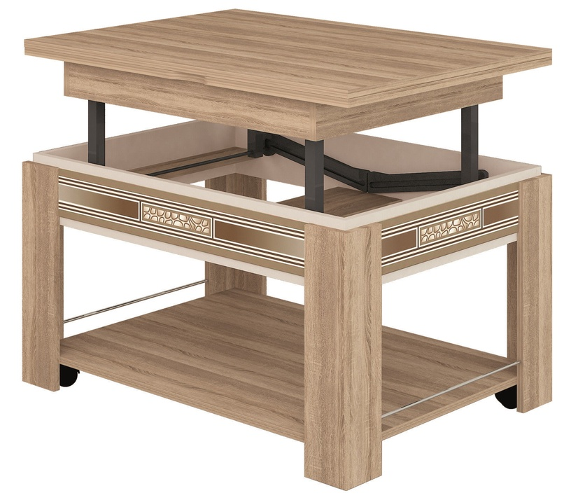 DaVita Agat 24.10 Coffee Table Sonoma Oak