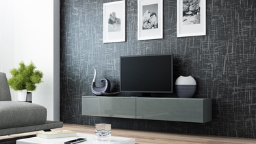 ТВ стол Cama Meble Vigo 180, серый, 1800x300x400 мм