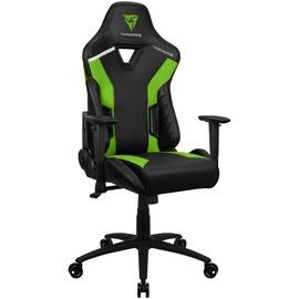 Spēļu krēsls Thunder X3 TC3, zaļa