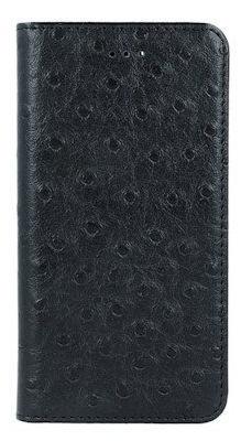 Mocco Smart Dots Book Case For LG K10 2017 Black