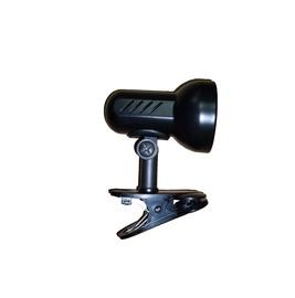 LAMPA GALDA AR KLIPSI K 1.1 40W E14 MELN (LAMKUR)