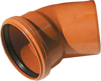Magnaplast Sewage Elbow Pipe Brown 30° 160mm