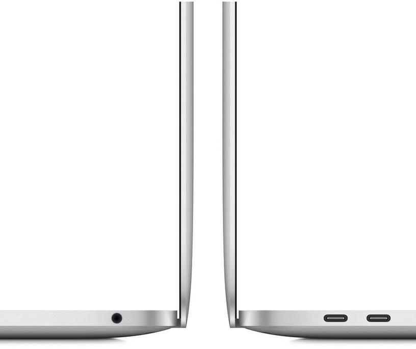 "Ноутбук Apple MacBook Pro / 13.3"" Retina with Touch Bar / M1 / 8GB RAM / 256GB SSD / RUS / Silver"