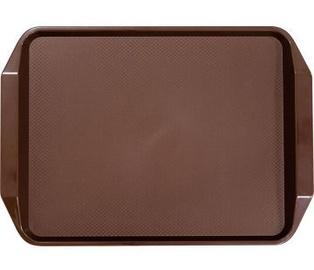 Stalgast Square Non Slip Tray Brown 43x30.5x3cm