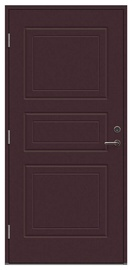Durvis Viljandi Dulcia, brūna, 208.8 cm x 89 cm x 6.2 cm