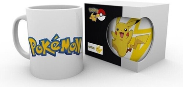 Pokemon Logo and Pikachu Cup