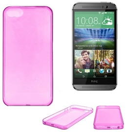 Telone Ultra Slim Back Case HTC One M8 Pink