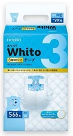 Autiņbiksītes Whito Tape, S, 66 gab.
