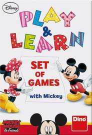 Dino Disney Mickey Mouse And Friends Play And Learn Set Of Games