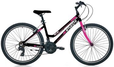 """Velosipēds Stucchi MTB Lady 1WX100, melna/rozā, 16"""", 26"""""""