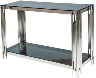 Консольный стол Signal Meble Fossil C Silver, 1200x400x780 мм