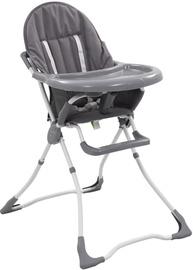 Стульчик для кормления VLX Baby High Chair 10185, серый