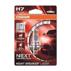 Auto spuldze Osram Night Breaker Laser H7 55W 12V