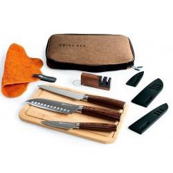 Набор кухонных ножей GSI Outdoors Raku, 7 шт.